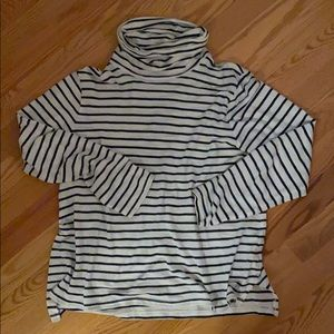MADEWELL striped long sleeve cotton